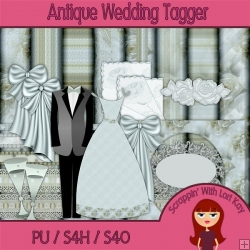 Antique Wedding - Tagger