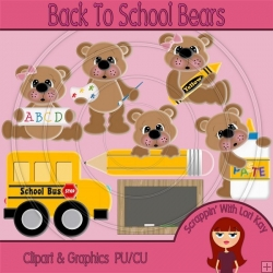Back To School Bears