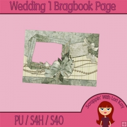 Wedding 1 Brag Book Page