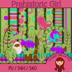 Prehistoric Girl - Full