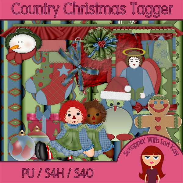 Country Christmas - Tagger