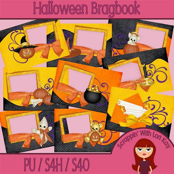 Halloween Brag Book - Click Image to Close