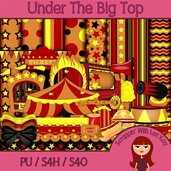 Under The Big Top - Full