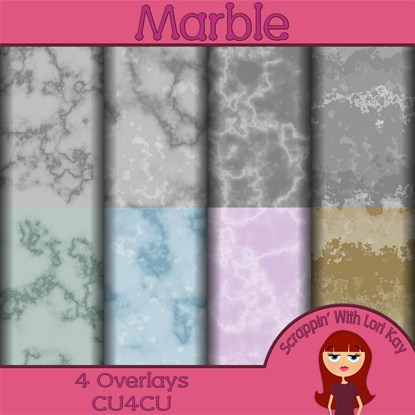 Marble Paper Overlays