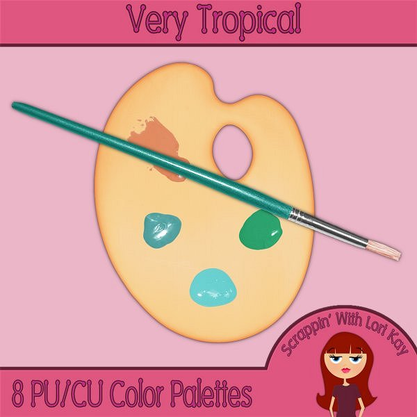 Tropical Color Palettes - Click Image to Close
